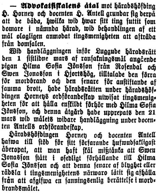 Klippet kommer från tidningen Kalmar 12 juni 1893