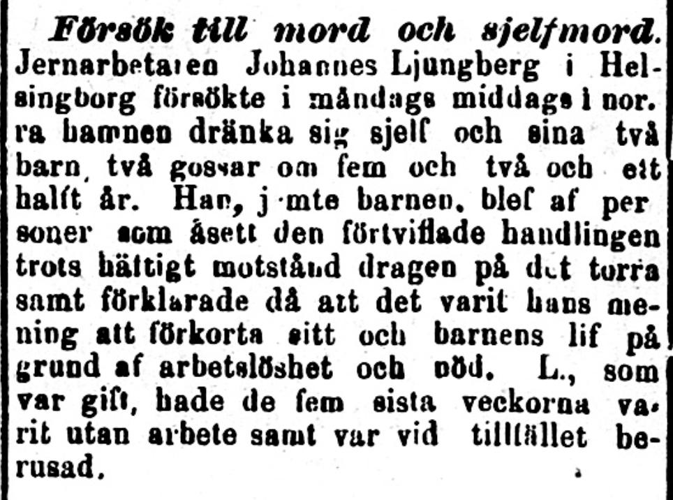 Kippet kommer från Norra Skåne den 5 september 1896.