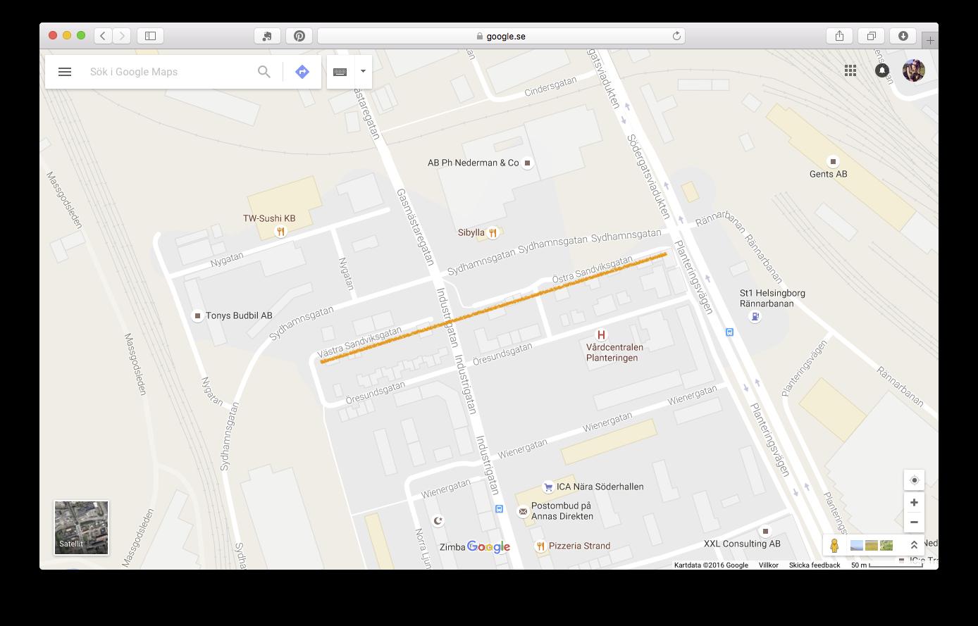 Sandviksgatan_karta
