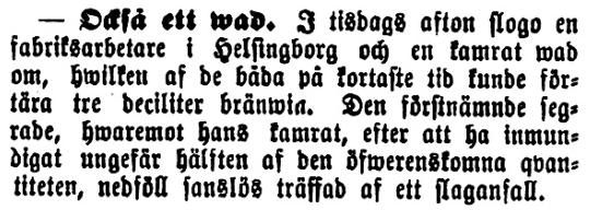 Klippet kommer från Kalmar den 13 juni 1893.