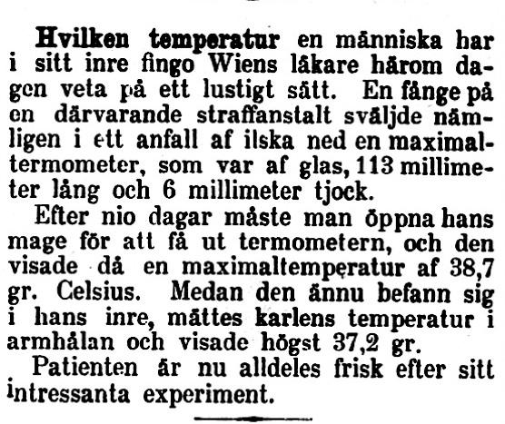 Klippet kommer från Tidning för Wenersborgs stad och län 18950719