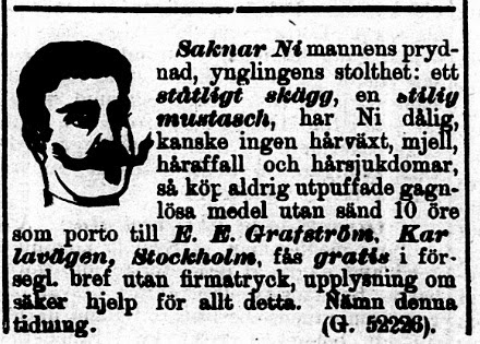 Klippet kommer från Norra Skåne den 29 september 1897