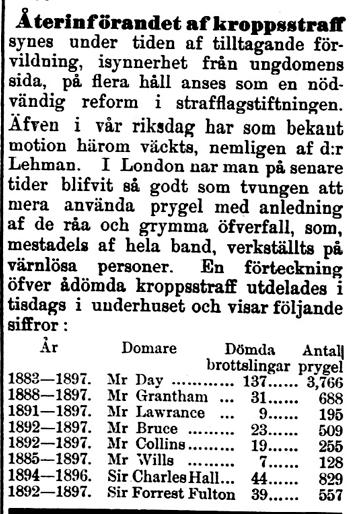 Klippet kommer från Kalmar den 6 juli 1898