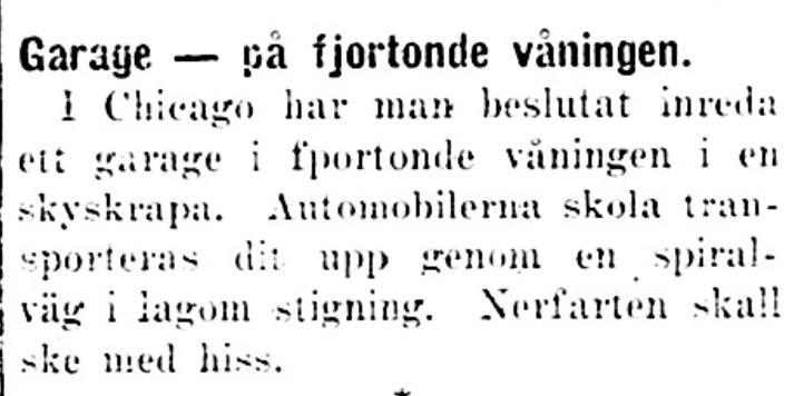 Klippet kommer från Dalpilen den 11 augusti 1925