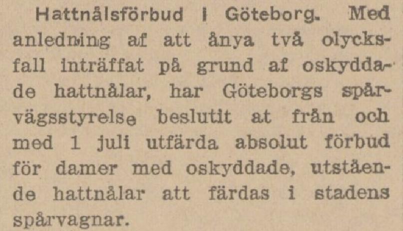 Klippet kommer från Svenska Folkets tidning 19130723